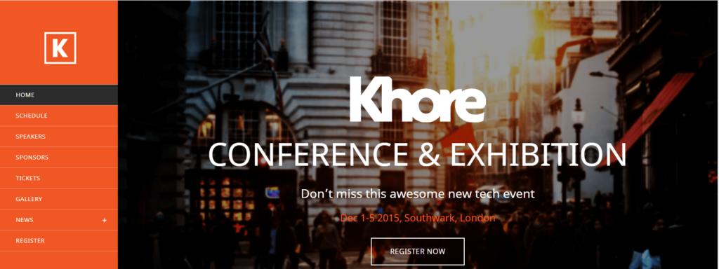 8 Modern and Flexible Event Conference WordPress Themes For Digital Entrepreneurs Screenshot 2 min 3 min 1024x384