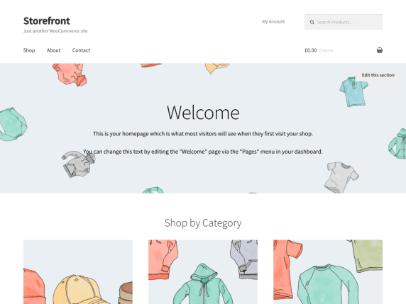 Storefront  17 Best Free WordPress Themes for Business Consultancy 2021 Storefront1