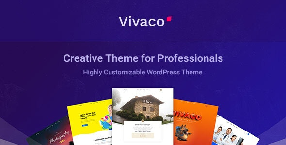 Vivaco  15 Best Multipurpose WordPress Themes To Save You Big For Future Projects Vivaco1