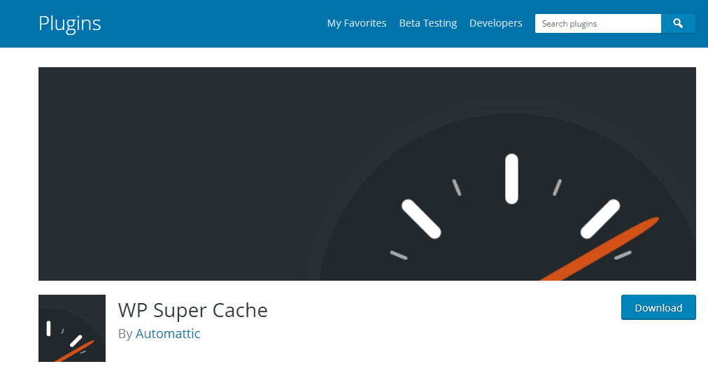 WP Super Cache  Top 10 Best Free WordPress Plugins Every Website Need (2021-22) WP Super Cache
