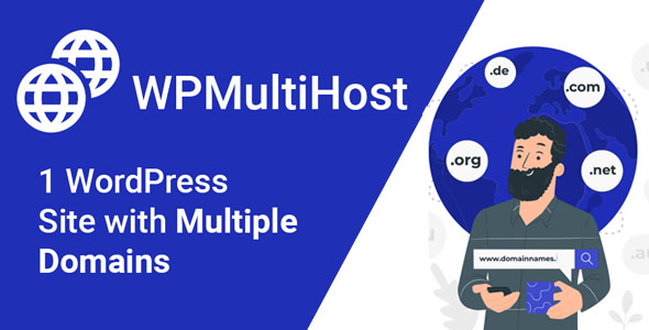 WordPress Site with Multiple Domains | WPMultiHost | Iqonic Design  Top 10 Best Free WordPress Plugins Every Website Need (2021-22) WPMulithost1