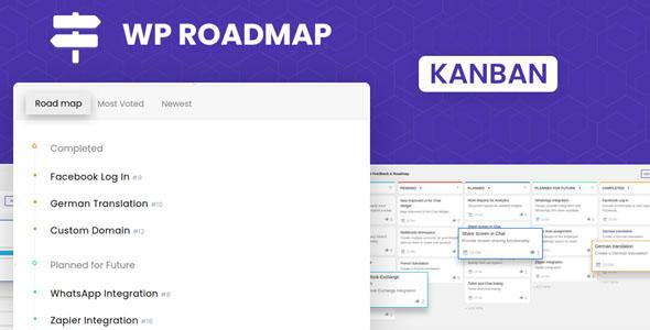 Free Product Feedback Board | WP Roadmap | Iqonic Design  Top 10 Best Free WordPress Plugins Every Website Need (2021-22) Wp Roadmap1