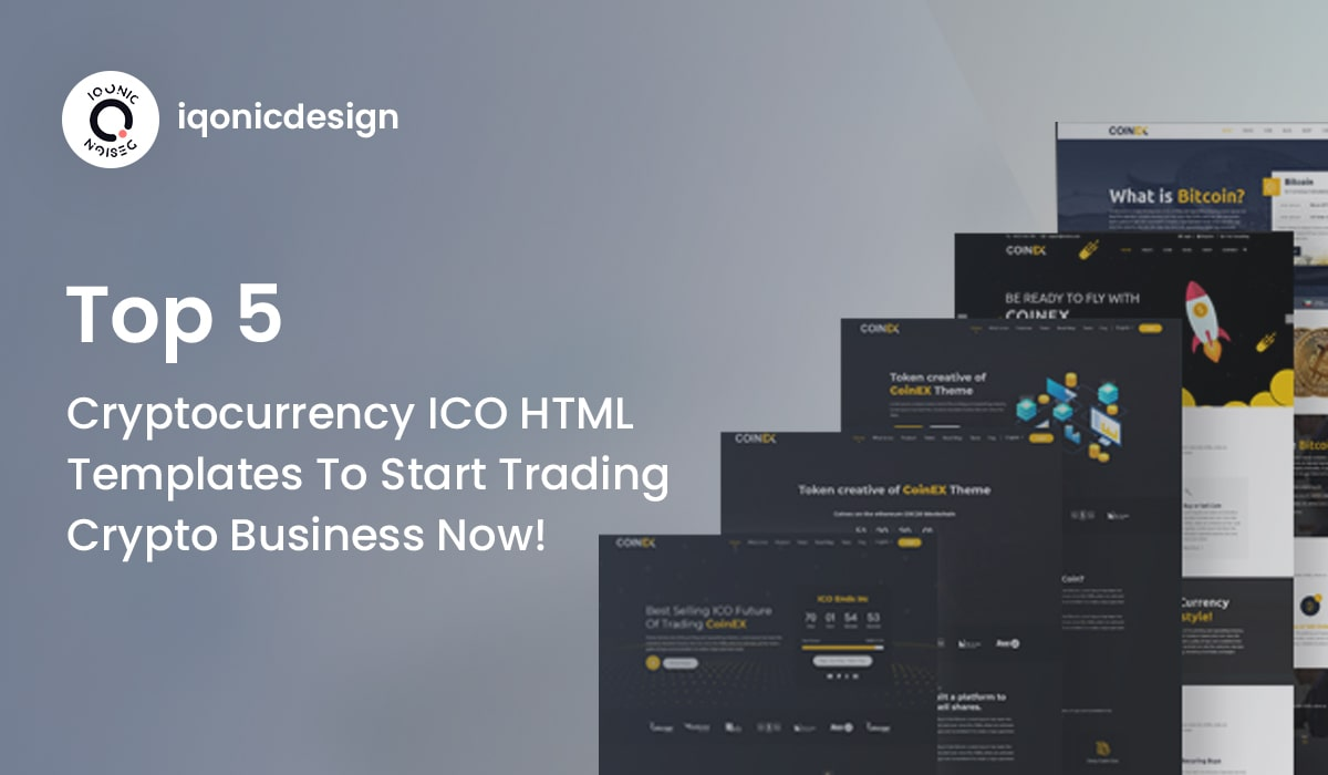 Top 5 Cryptocurrency ICO HTML Templates To Start Trading Crypto Business Now!  Top 5 Cryptocurrency ICO HTML Templates To Start Trading Crypto Business Now! bitcoin theme 2 min
