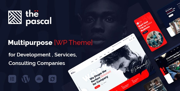 thePascal  15 Best Multipurpose WordPress Themes To Save You Big For Future Projects thepascal1