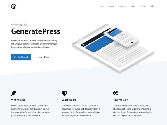 GeneratePress  12 Best Free WordPress Themes of 2021 (Chosen by Experts) GeneratePress1