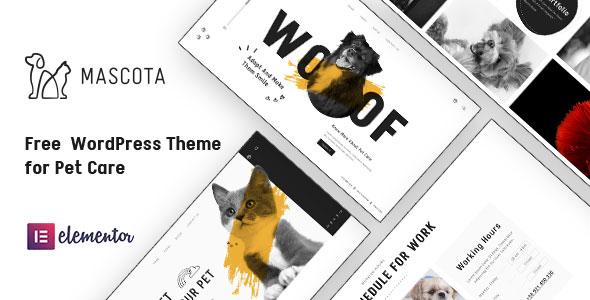 Free WordPress Theme for Petcare | Mascota | Iqonic Design  12 Best Free WordPress Themes of 2021 (Chosen by Experts) Mascota1